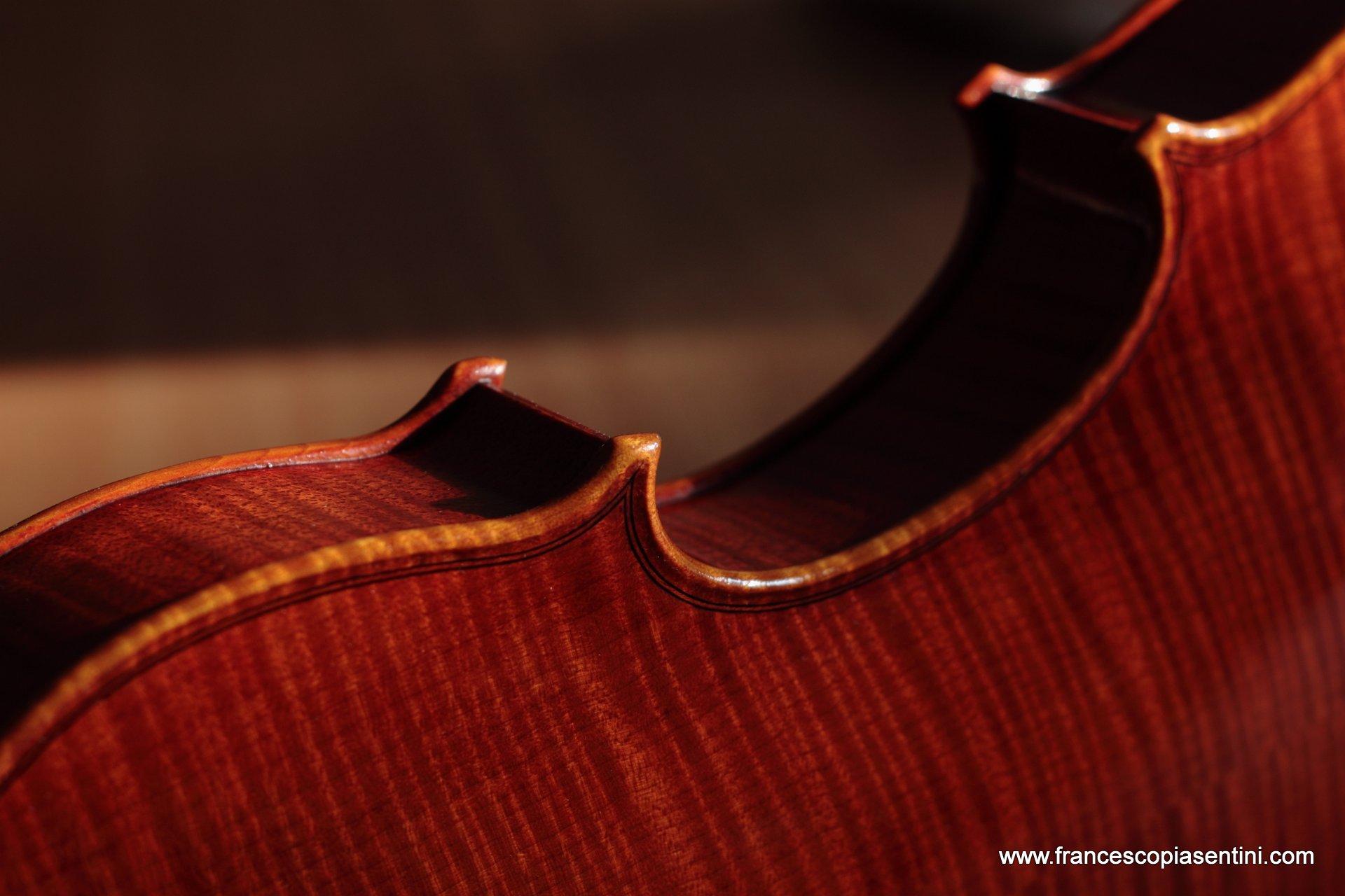 violino modello Montagnana 2015