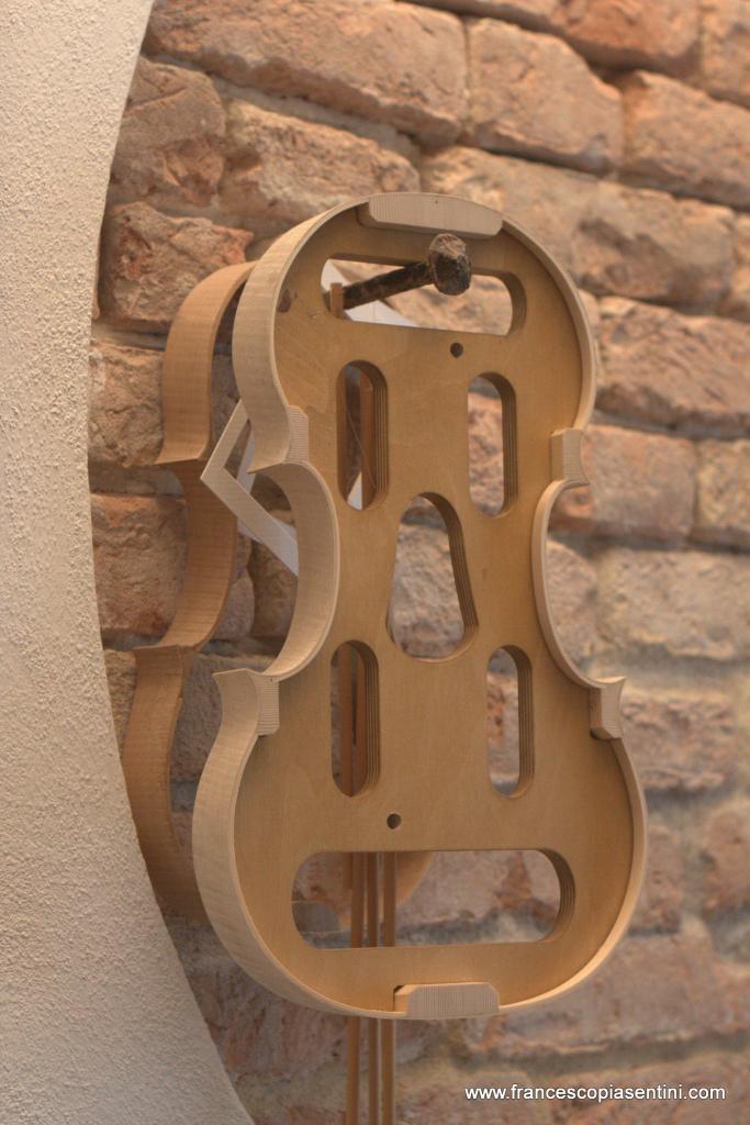 Fasce montate sulla forma interna Studio Piasentini