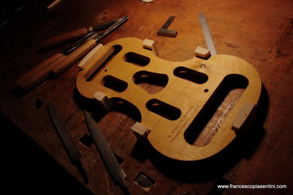 Forma interna, zocchetti in Abete - Studio Piasentini