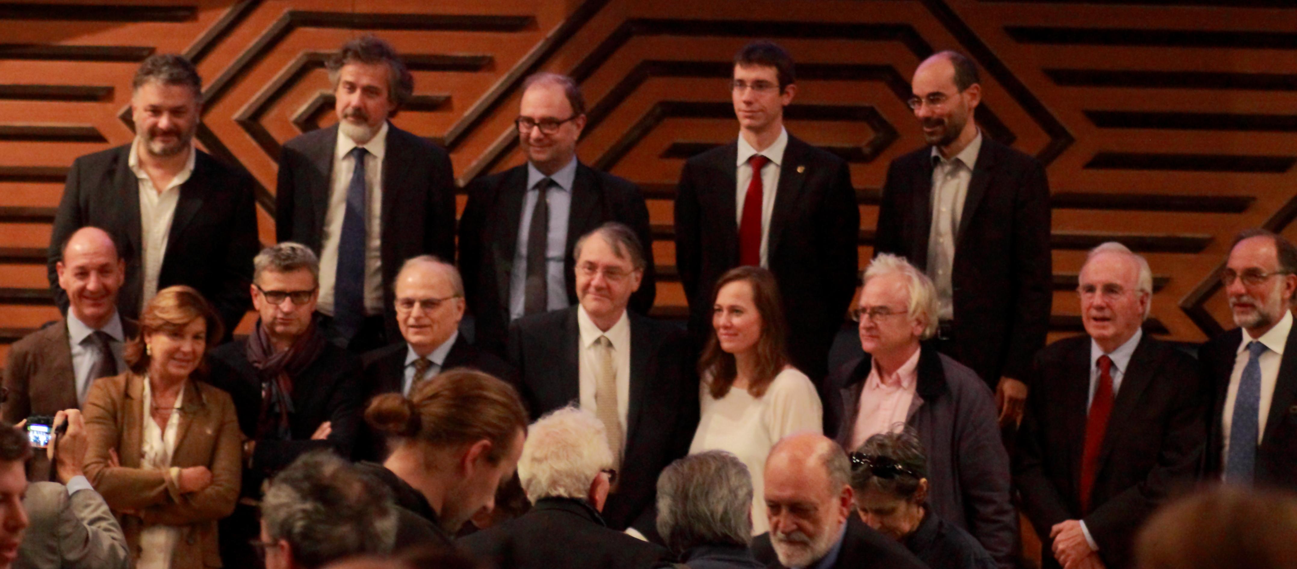 Foto di gruppo dei relatori dello Study Day - Museo del violino Cremona Stradivari Messiah