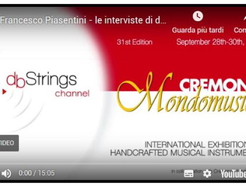 Intervista DbStrings – Cremona Musica 2018